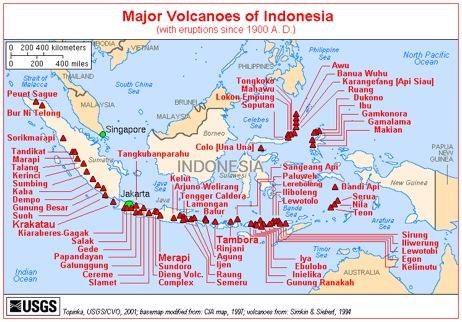 小三角是火山点